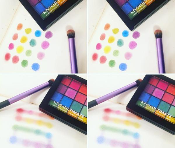 Nyx Ultimate Eyeshadow Palette:Brights